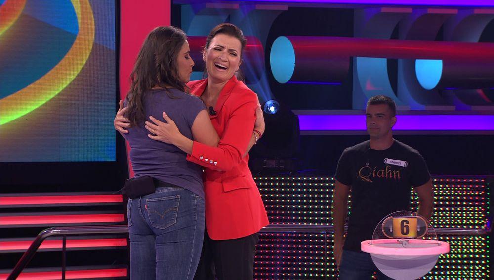 Marta enseña a bailar kizomba a Silvia Abril en '¡Ahora caigo!'