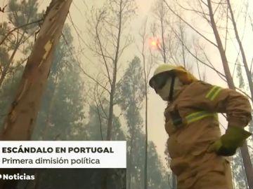 Dimite un alto cargo en Portugal por la compra de lotes antiicendios