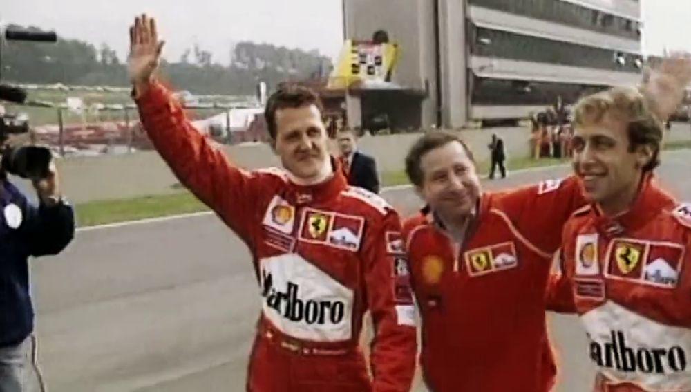 Novedades en el estado de salud de Michael Schumacher: ve las carreras de F1 por televisión