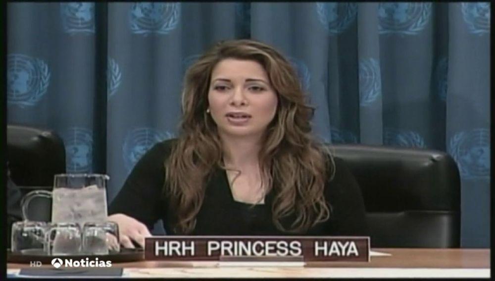 Reaparece Haya de Jordania tras su divorcio del Emir de Dubai