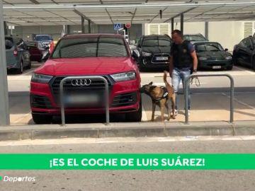 Alerta en el aeropuerto de El Prat por un falso aviso de bomba en los coches de Leo Messi y Luis Suárez