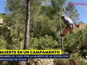 Últimas imágenes de Sergio, el joven con síndrome de down qeu murió en un campamento
