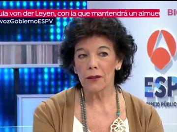 Isabel Celaá en Espejo Público