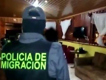 Detenidas 48 personas en una operación contra el tráfico de personas en Costa Rica y Panamá
