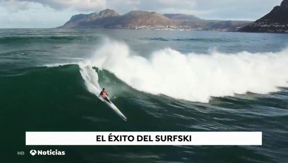 Surfski, la modalidad de piragüismo que contará con españoles en el próximo mundial