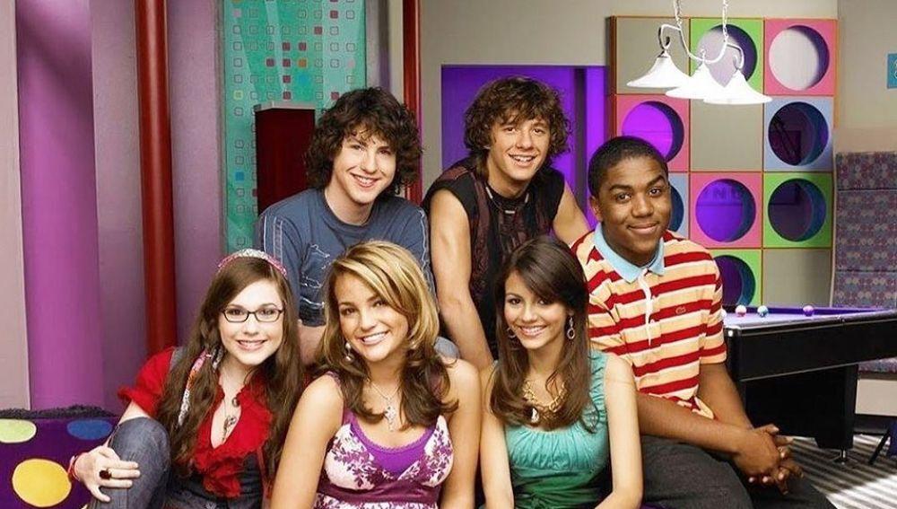 Los protagonistas de 'Zoey 101'
