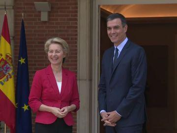 Von der Leyen se reúne con Sánchez y Borrell para abordar los retos de la nueva Comisión Europea