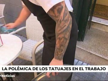 ¿Afectan los tatuajes a la hora de encontrar trabajo?