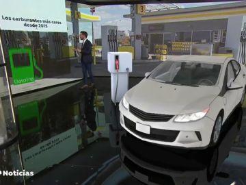 REEMPLAZO El precio de la gasolina y del gasóleo toca nuevos máximos desde 2015