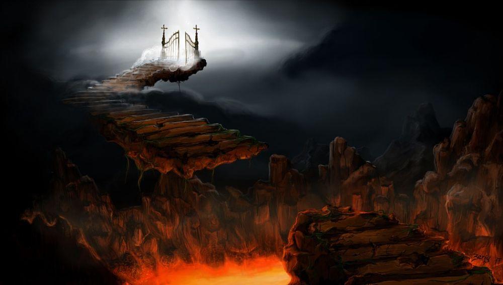 Ilustración del infierno