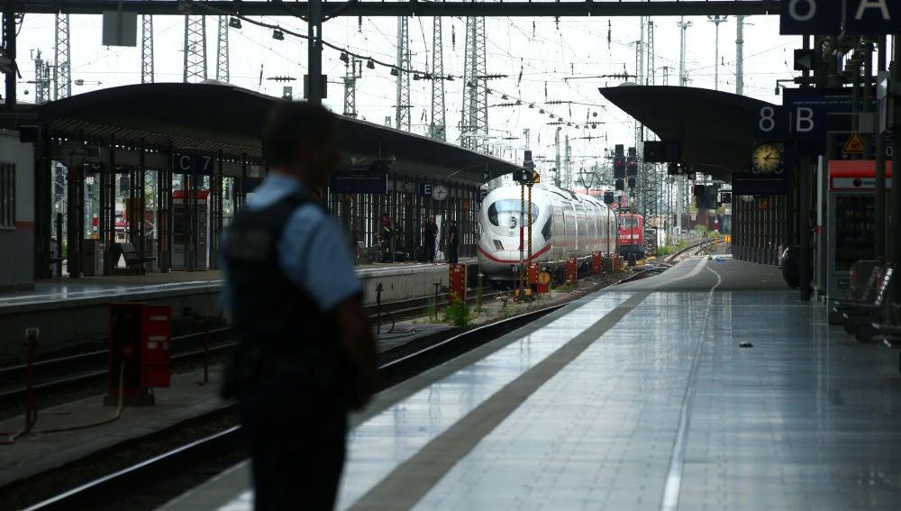 Estación de tren de Frankfurt