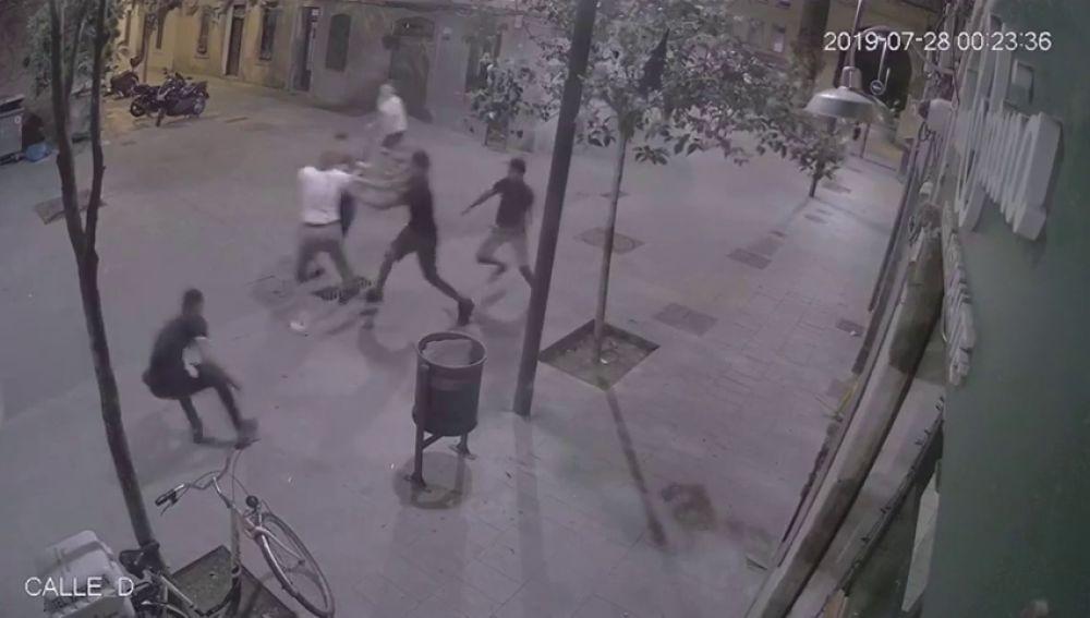 Propinan una paliza a un turista en el barrio de La Barceloneta