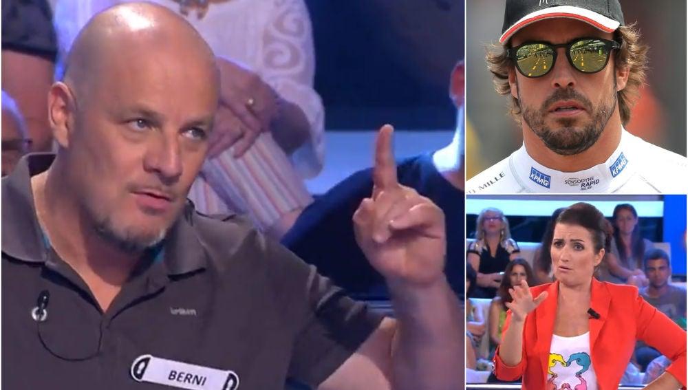 """El chiste contra Fernando Alonso en '¡Ahora caigo!"""""""