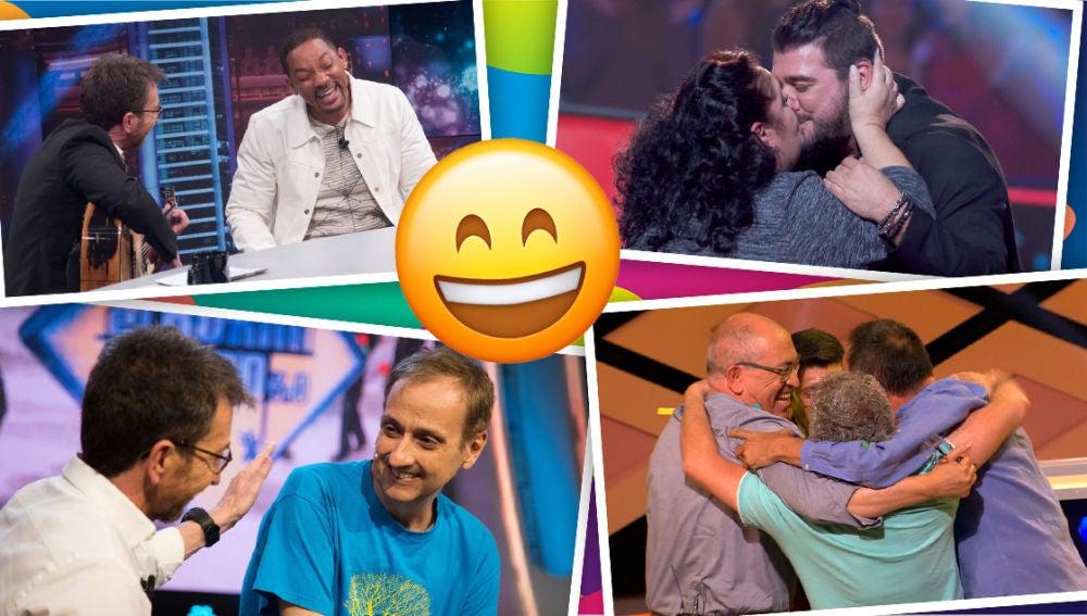 Celebramos el Día de la Alegría con los momentos que nos han hecho disfrutar en Antena 3