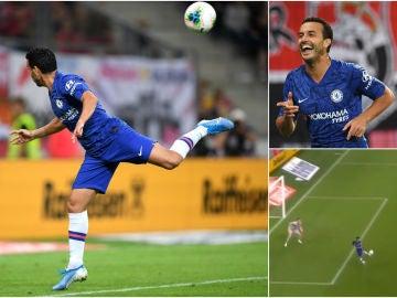 El golazo de Pedro con el Chelsea