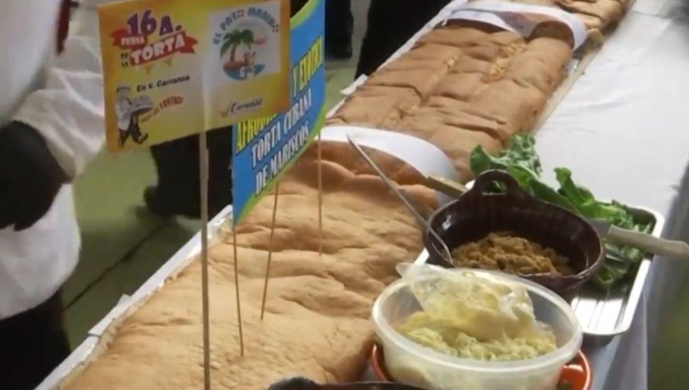Nuevo récord en México con una torta de 72 metros