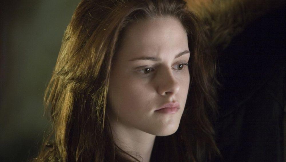Kristen Stewart como Bella en 'Crepúsculo'