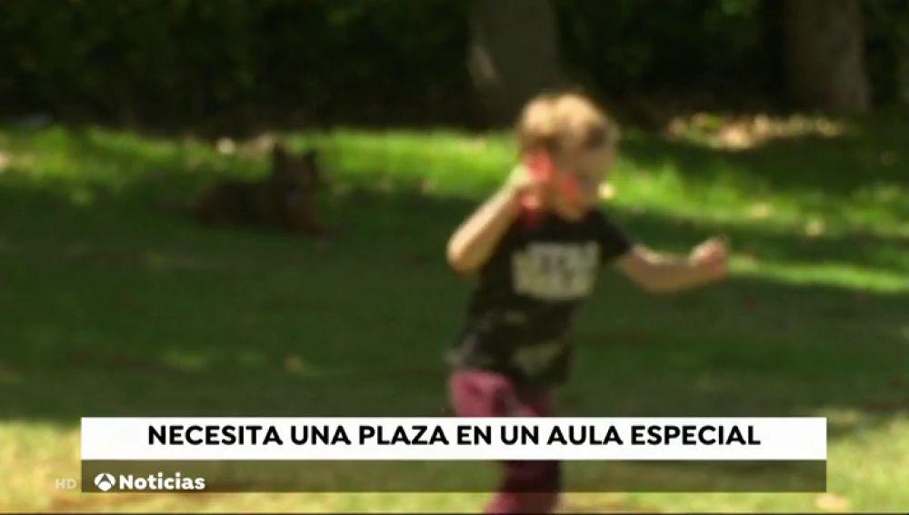 Las restricciones de Educación dejan sin plaza en el colegio a un niño con autismo en Tenerife