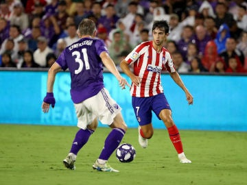 Joao Félix, durante un partido de pretemporada