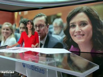 Ayuso confirma el 'sí' a Vox y espera que su investidura como presidenta de la Comunidad de Madrid sea lo antes posible