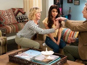 Claire y Haley Dunphy en 'Modern Family'