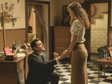 La romántica petición de mano de Prudencio a Lola
