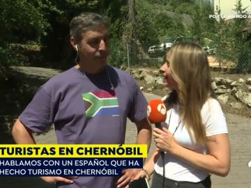 """Héctor, turista de Chernóbil: """"Asumo el riesgo, nadie me ha obligado a ir allí"""""""