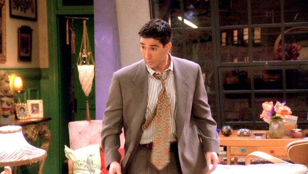 Rachel tiene un sueño erótico con Ross