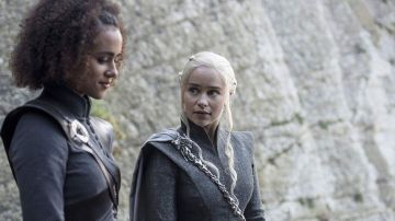 Missandei y Daenerys Targaryen