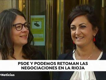 PSOE y Podemos retoman las negociaciones en La Rioja