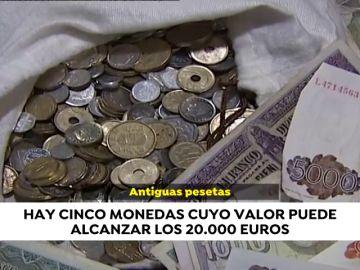 Cómo cambiar las pesetas que pueden llegar a valer hasta 20.000 euros