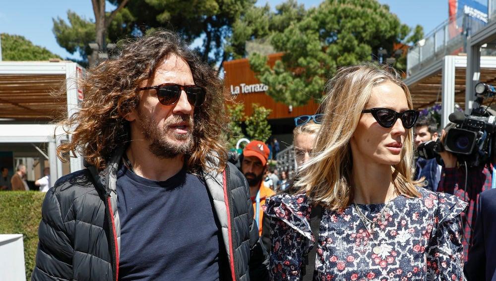 Vanesa Lorenzo y Carles Puyol