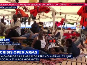 Crisis del open arms