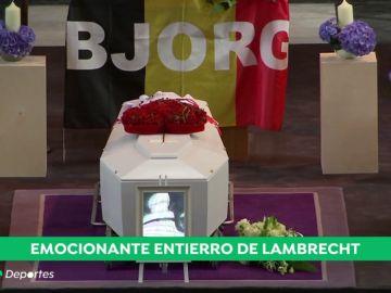 Emocionante entierro de Bjorg Lambrecht: amigos y familia le dan el último adiós