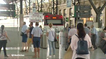 Trenes cancelados por la huelga de Renfe