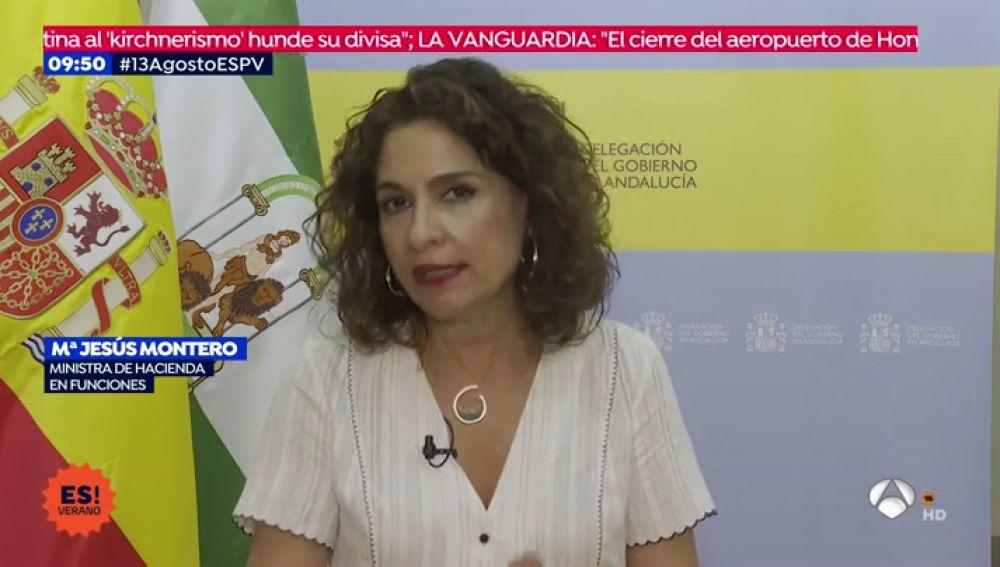 """Montero invita a Podemos a """"sentarse mañana"""" para retomar las negociaciones del acuerdo programático"""