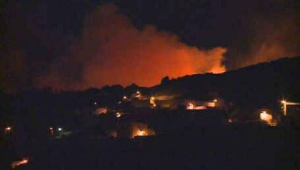 Nuevo incendio en el municipio de Telde, Gran Canaria