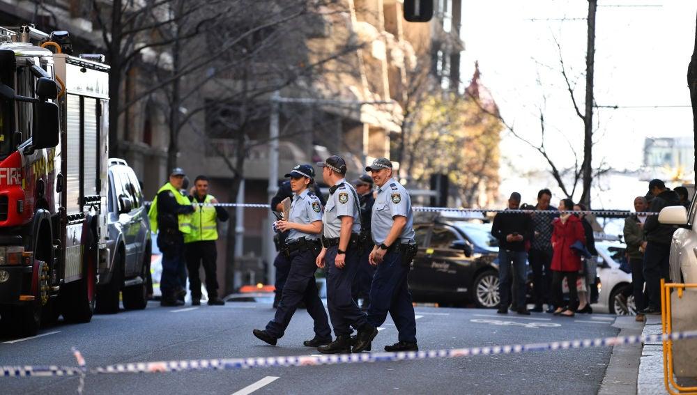 Ataque en el centro de Sidney