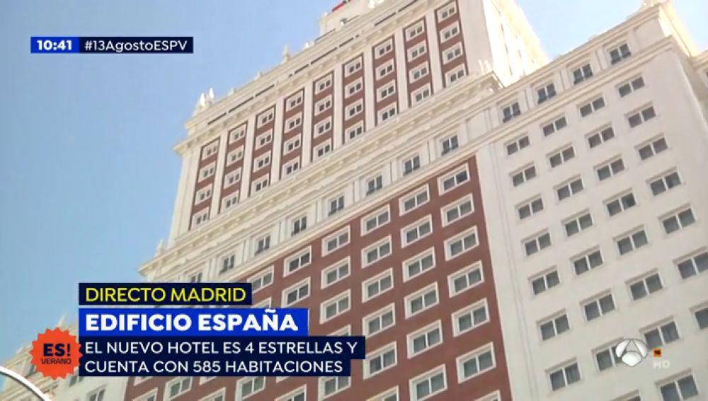 Edificio España nuevo hotel de 4 estrellas