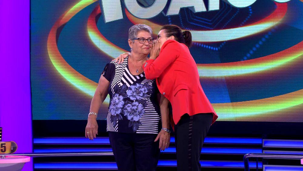 Silvia  Abril se queda sin voz en  '¡Ahora caigo!'