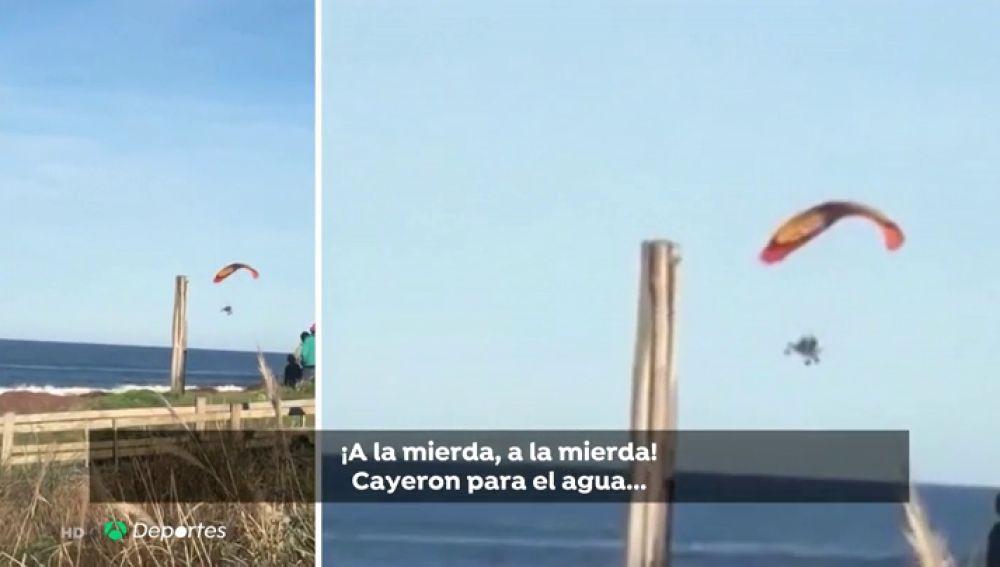 """Cecilia Corso, la superviviente al accidente en paracaídas: """"Leandro esta aturdido, no supo reaccionar"""""""