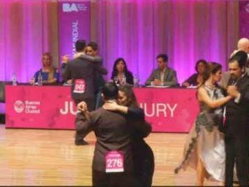 Campeonato mundial de tango en Buenos Aires