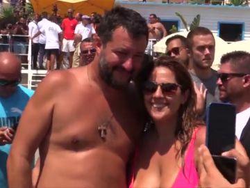 Salvini presiona para votar la moción contra su propio primer ministro