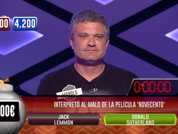 La gran hazaña de un concursante en '¡Boom!': de 200 a 3.800 euros en la bomba clasificatoria