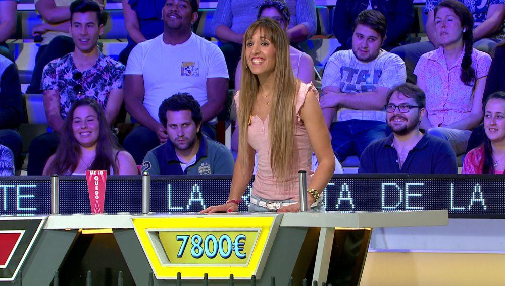 La jugada maestra de Priscila en 'La ruleta de la suerte'