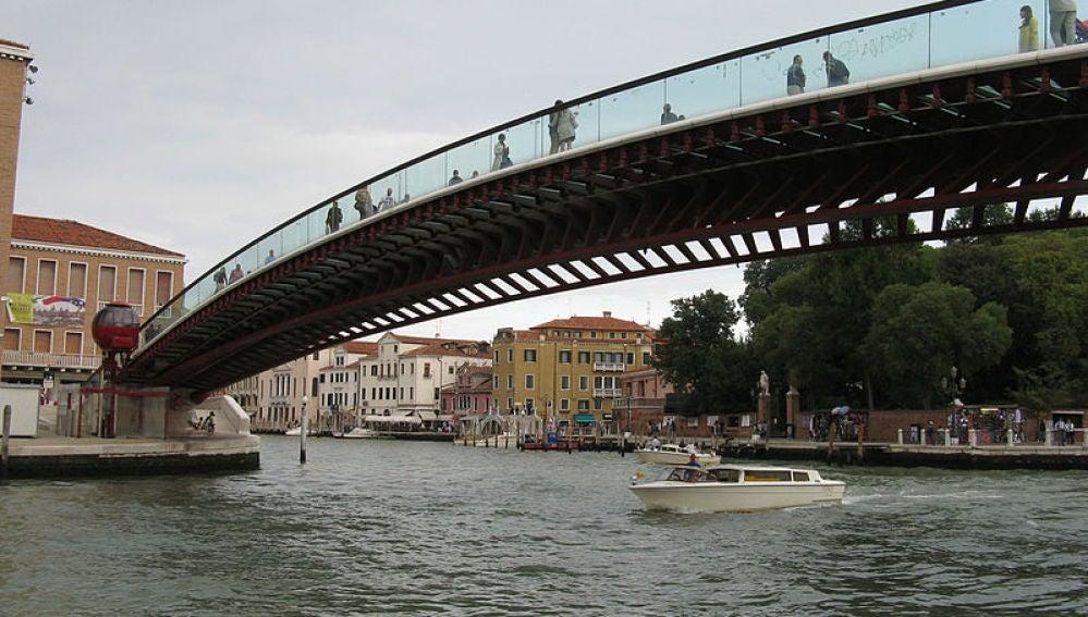 Puente de la Constitución de Venecia, de Santiago Calatrava