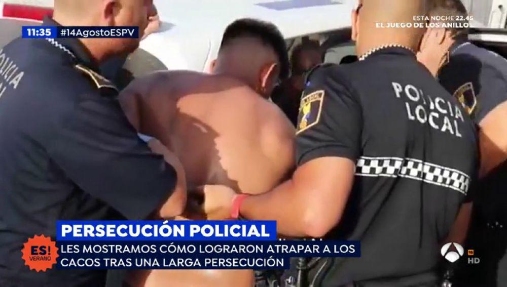 Persecución policial en Santa Pola