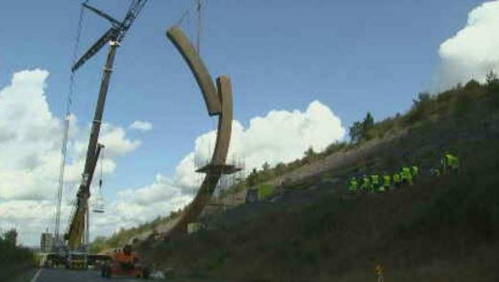 La escultura más grande de Europa se instalará en Bélgica