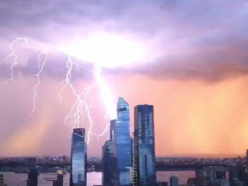Tormenta eléctrica en Nueva York