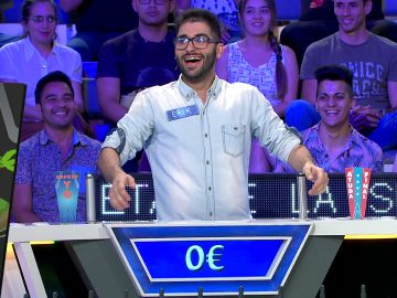 La extraña reacción de Erik después de caer en la quiebra de 'La ruleta de la suerte'
